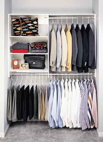 Exceptional Custom Closet. Custom Organizer. Shelving